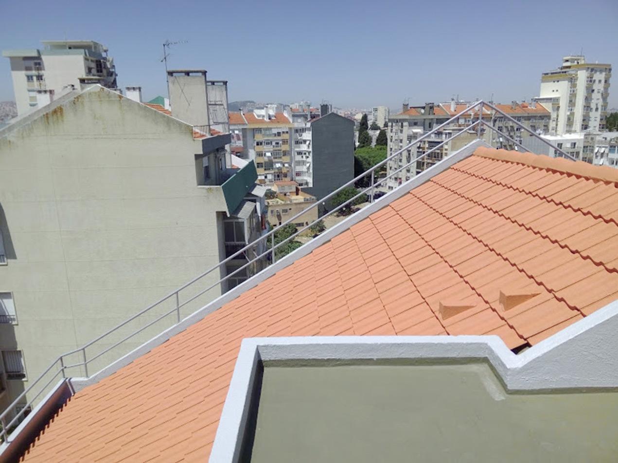 Isolamento de telhados em Lisboa