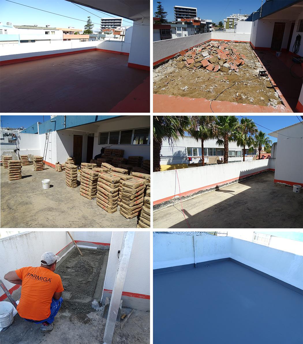 Restauração de Terraços Lisboa