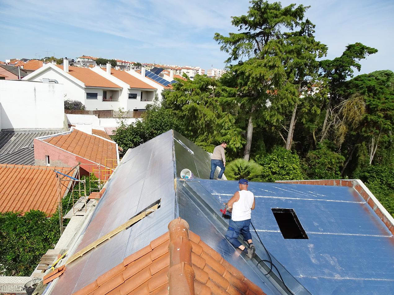 Empresas de impermeabilização de telhados em Lisboa