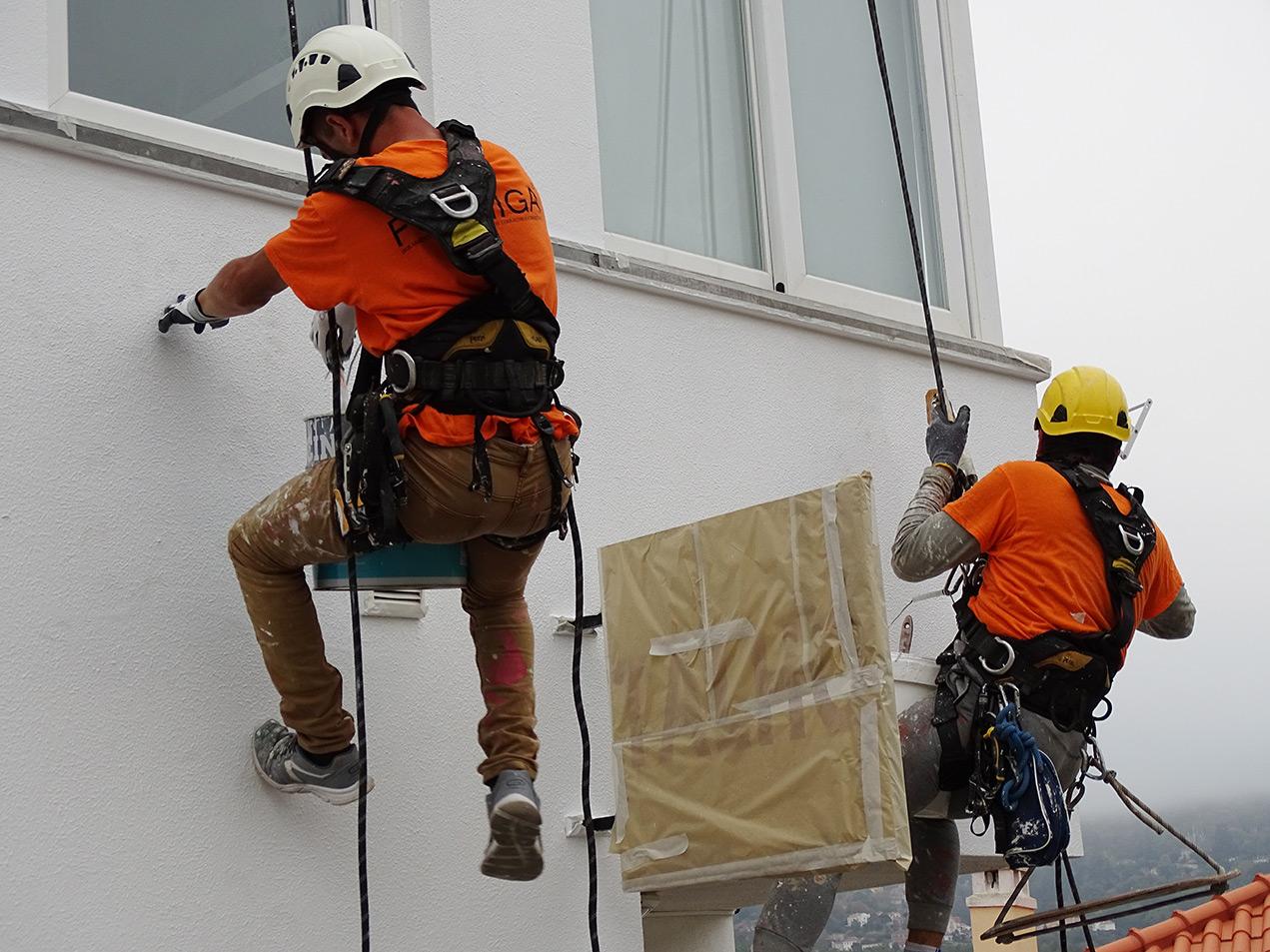 Impermeabilização de fachadas em altura
