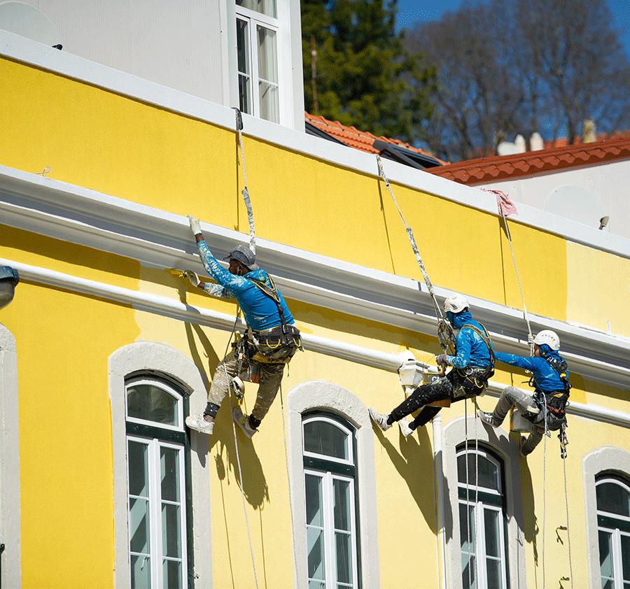 Pintura-de-fachadas-em-alpinismo